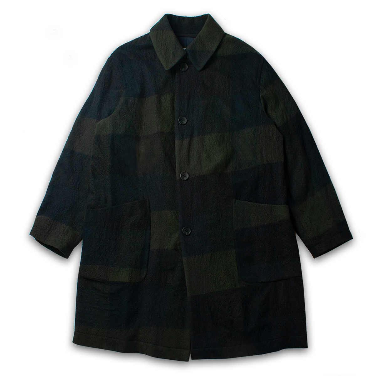 [SAGE DE CRET ] CHECK WOOL COAT 'CHECK'