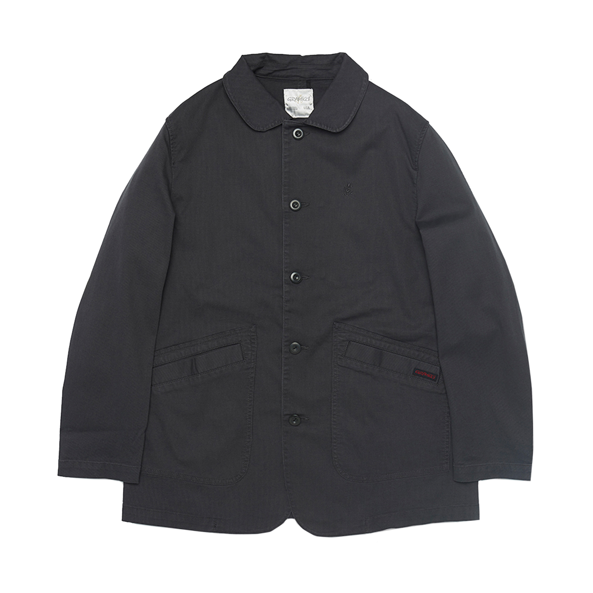 [GRAMICCI] JEAN CORD WORK JACKET 'CHARCOAL'