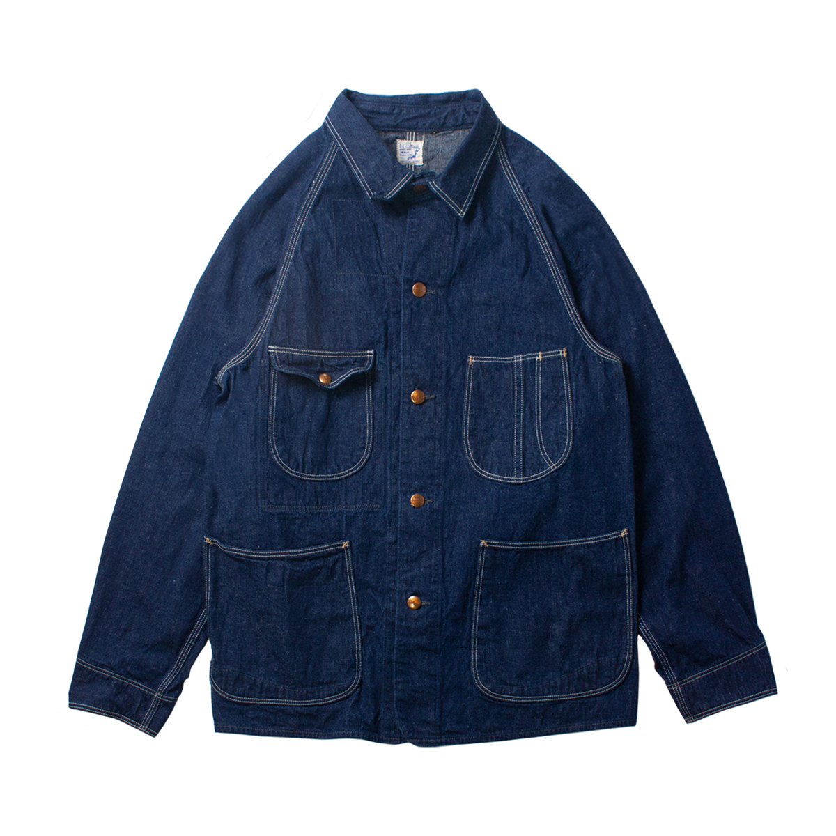 [ORSLOW] 50's COVERALL DENIM 'ONE WASH'