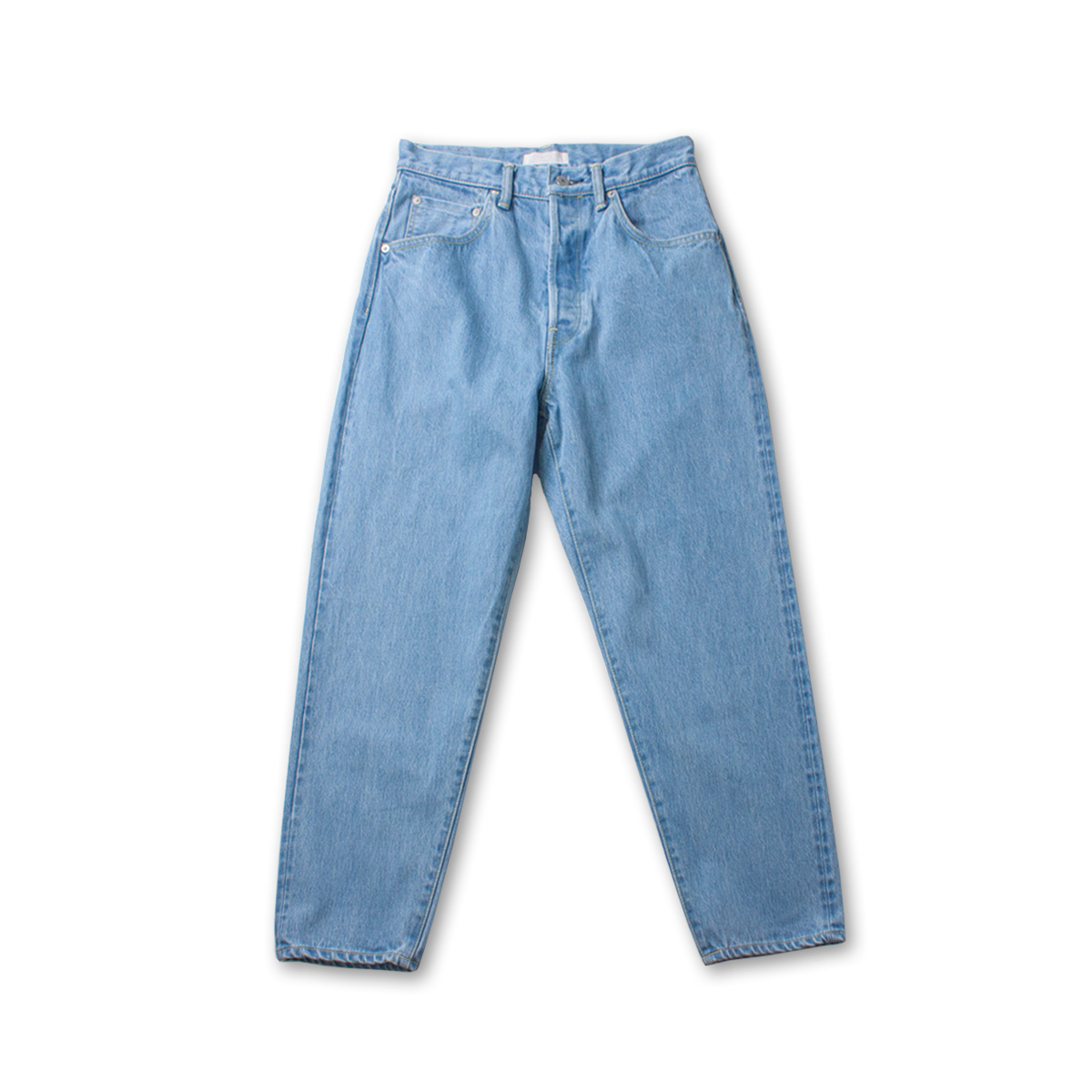 [HATSKI] LOOSE TAPERED DENIM 'ICE BLUE'