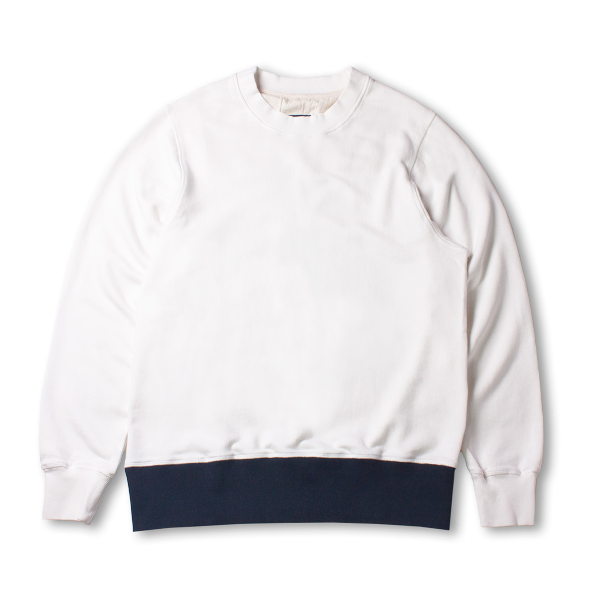 [DOCUMENT] THE DOCUMENT SWEAT SHIRT 'WHITE'