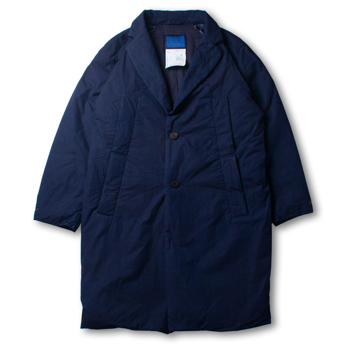 [DOCUMENT] INDIGO PADDED COAT