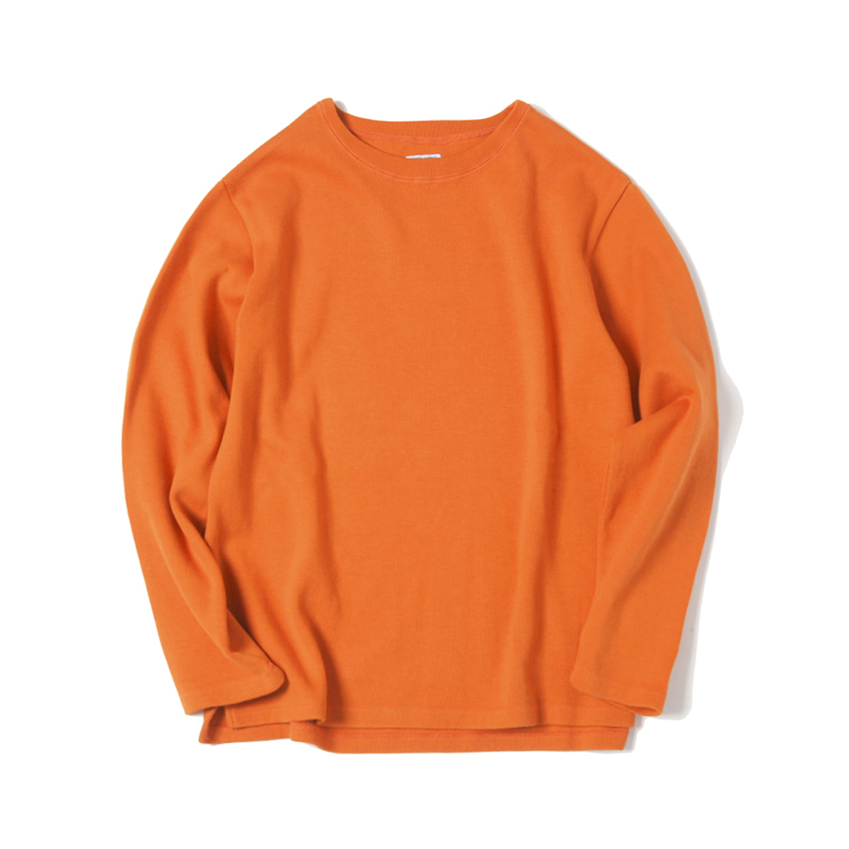 [ELSEWEAR] DON'T WORRY L/S TEE 'ORANGE'