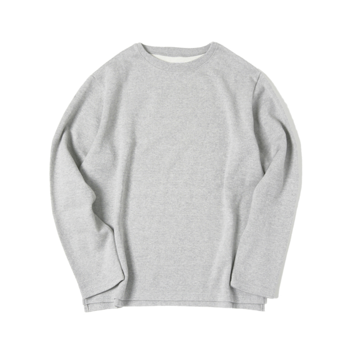 [ELSEWEAR] DON'T WORRY L/S TEE 'GRAY'