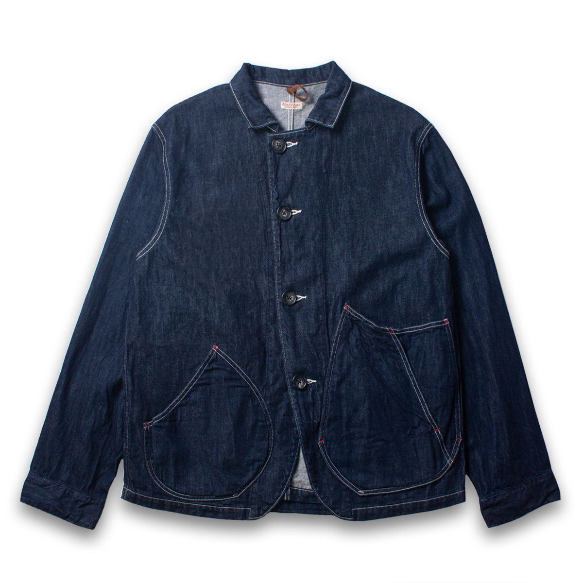 [KAPITAL] 12oz DENIM x 8oz DENIM RINGO COVERALL 'INDIGO