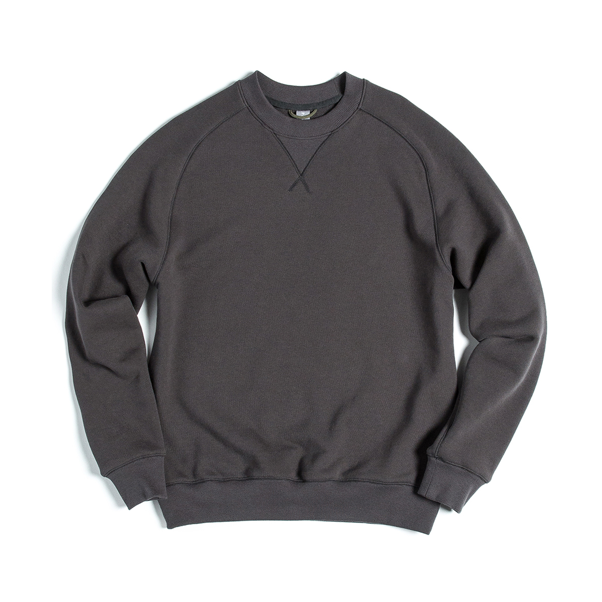 [UNAFFECTED] SWEAT SHIRT 'CHARCOAL'