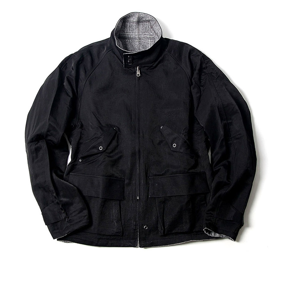 [BEHEAVYER] BHR TWO FACE BLOUSON 'BLACK'