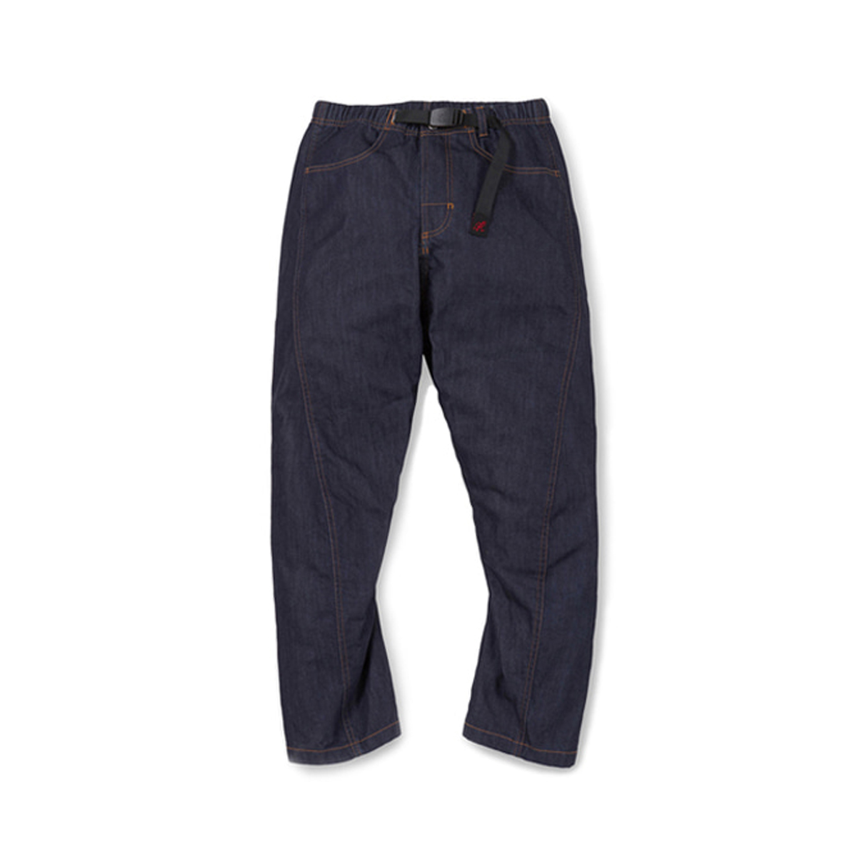 [GRAMICCI] DENIM DRAPING PANTS 'ONE WASH'
