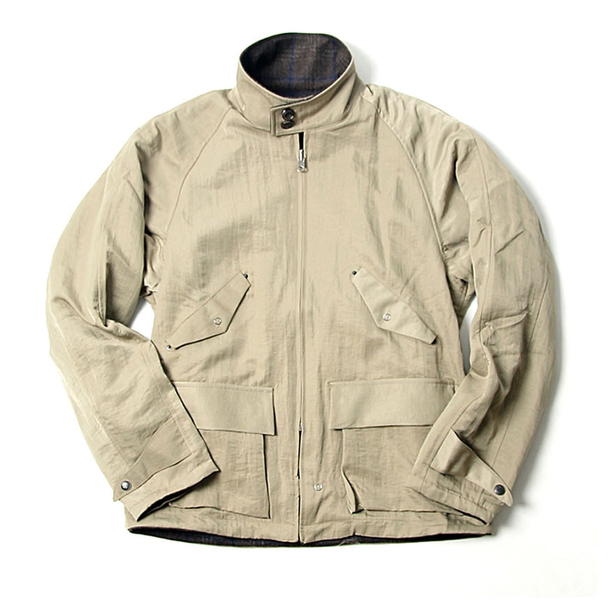 [BEHEAVYER] BHR TWO FACE BLOUSON 'BEIGE'