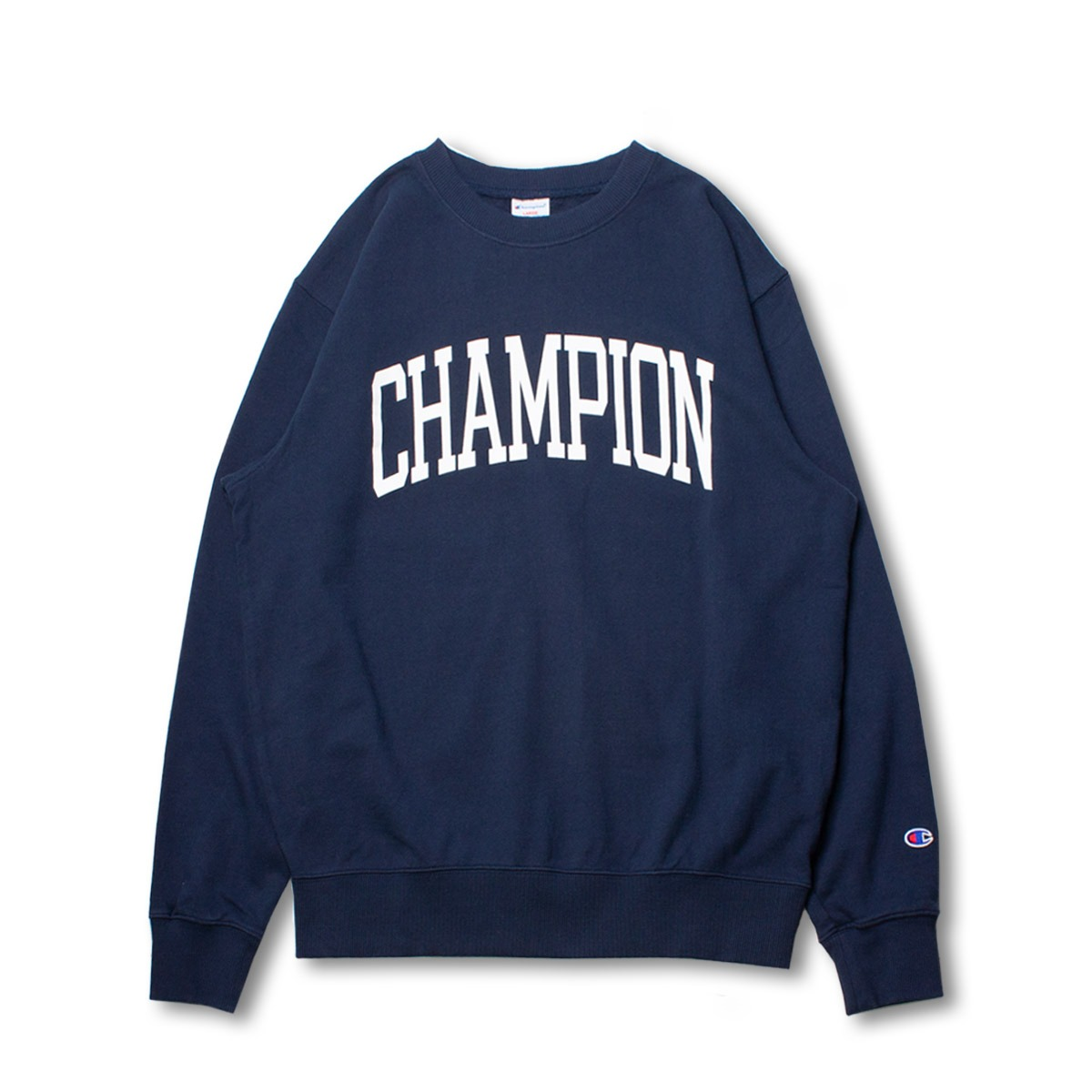 [CHAMPION] CREW NECK SWEAT SHIRT (C3-N015) 'NAVY'