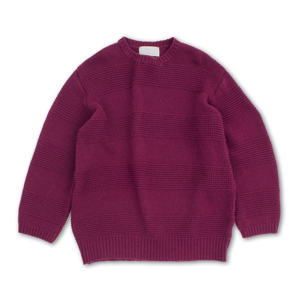 [GAKURO] CREWNECK SWEATER 'PURPLE'