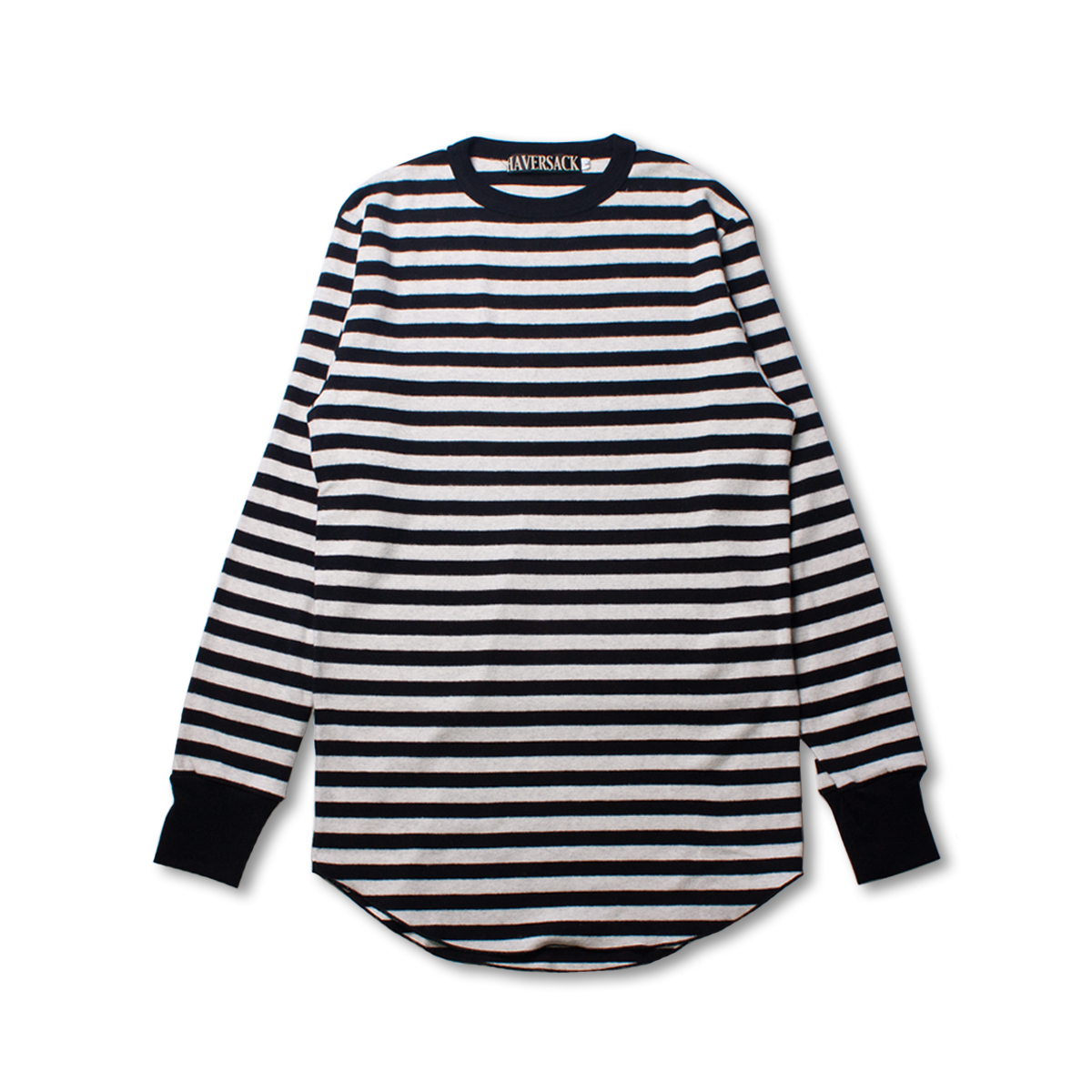 [HAVERSACK] STRIPE TEE 'BLACK'