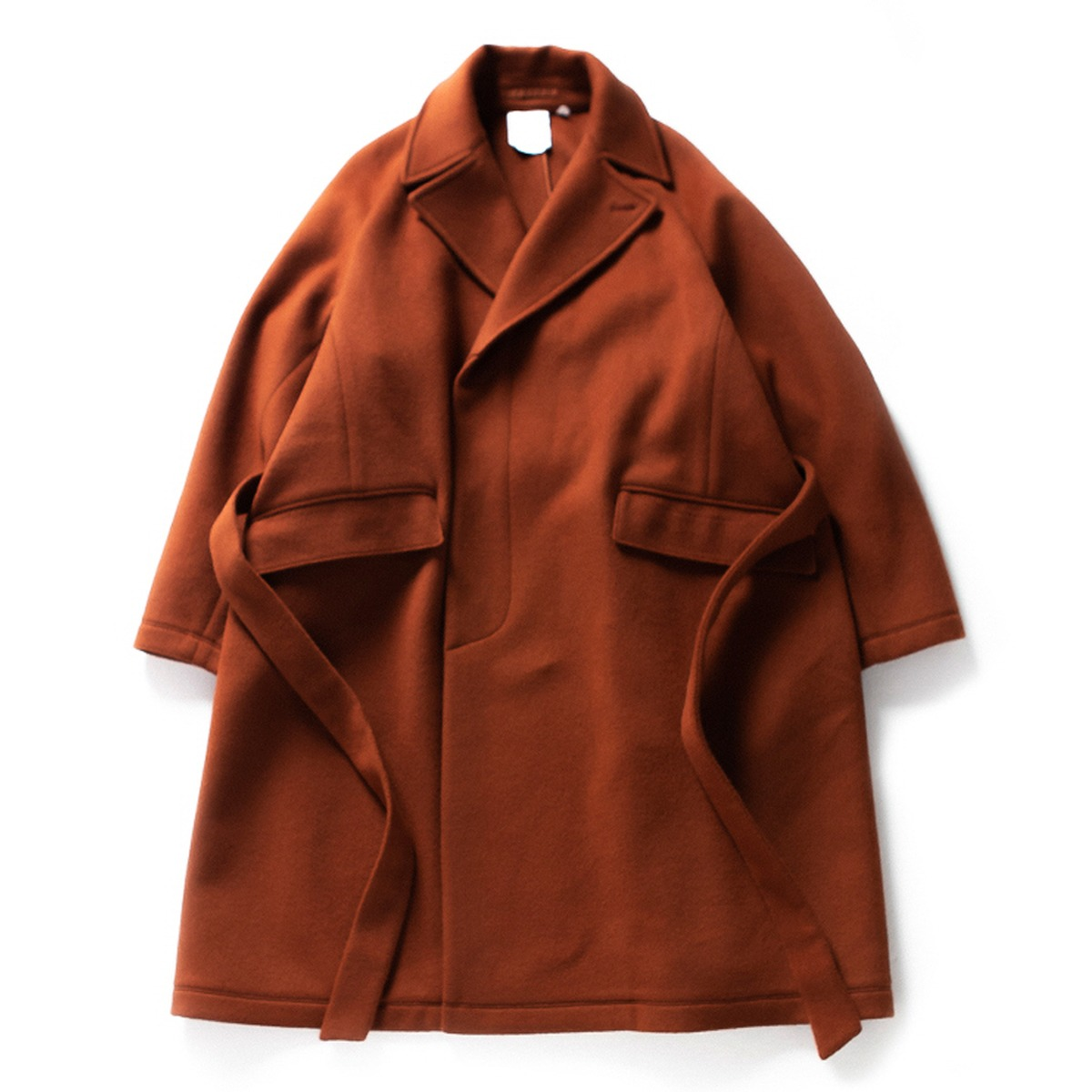 [BROWNYARD] ROBE COAT 'BRICK'