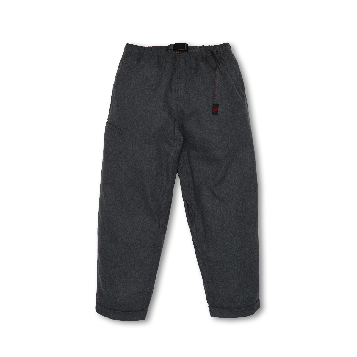 [GRAMICCI] WOOL BLEND RESORT PANTS 'HEATHER CHARCOAL'