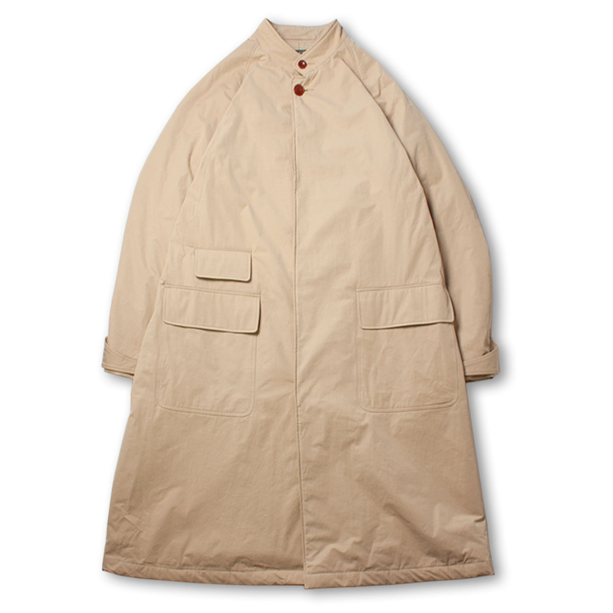 [HAVERSACK] SPLIT CROSS HUNTING COAT 'BEIGE'