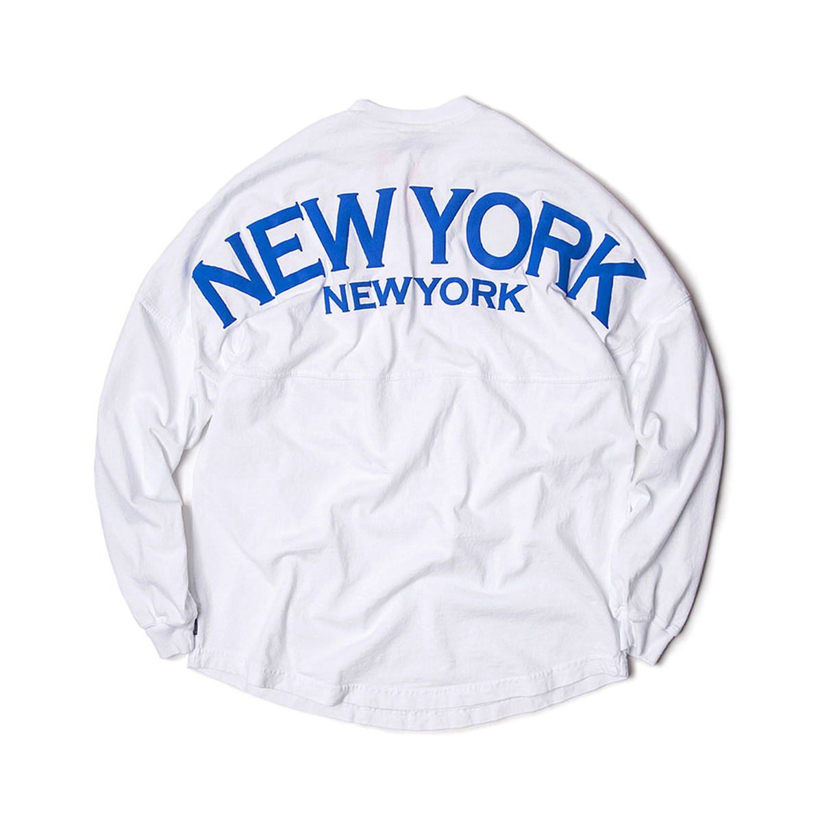 [SPIRIT JERSEY] NEW YORK L/S TEE 'WHITE'