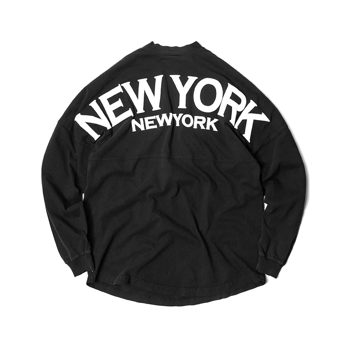 [SPIRIT JERSEY] NEW YORK L/S TEE 'BLACK'