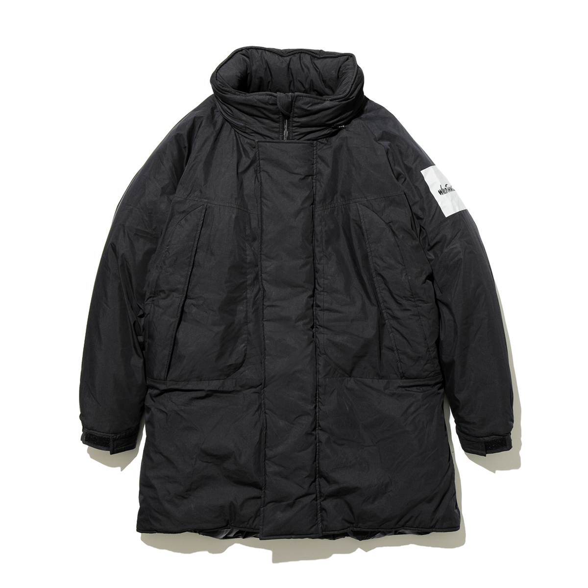 [WILD THINGS] MONSTER PARKA 'BLACK'
