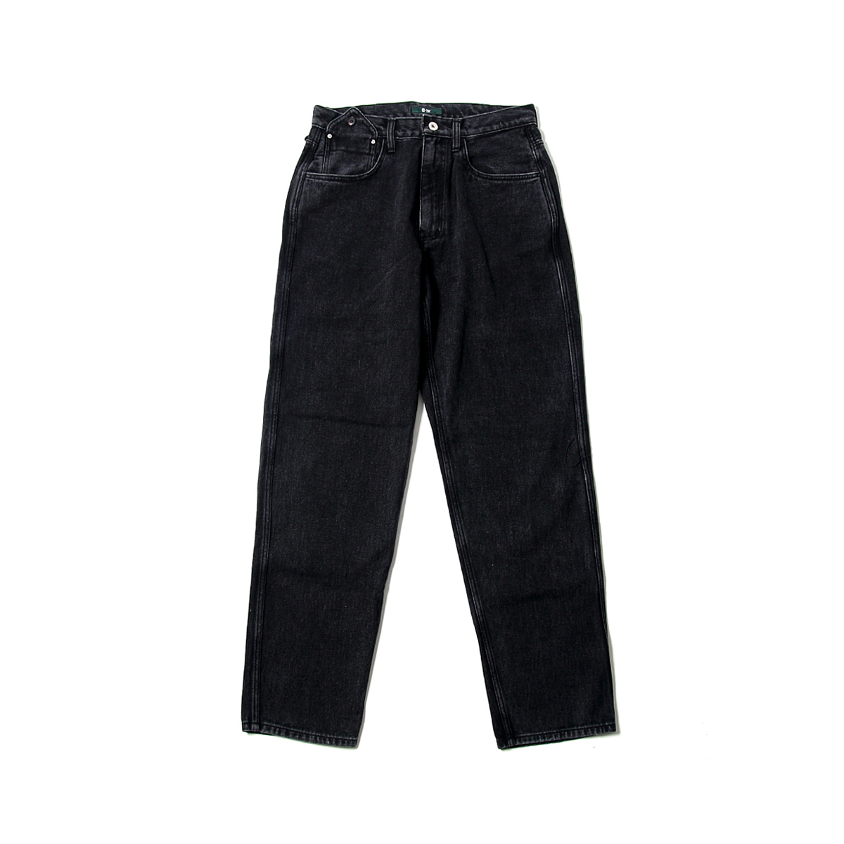 [BEHEAVYER] BHR LOOOSY TAPERED DENIM 'BLACK'