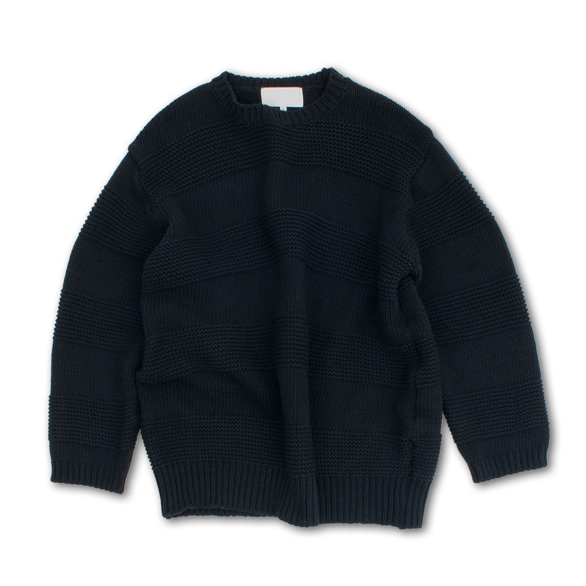 [GAKURO] CREWNECK SWEATER 'BLACK'