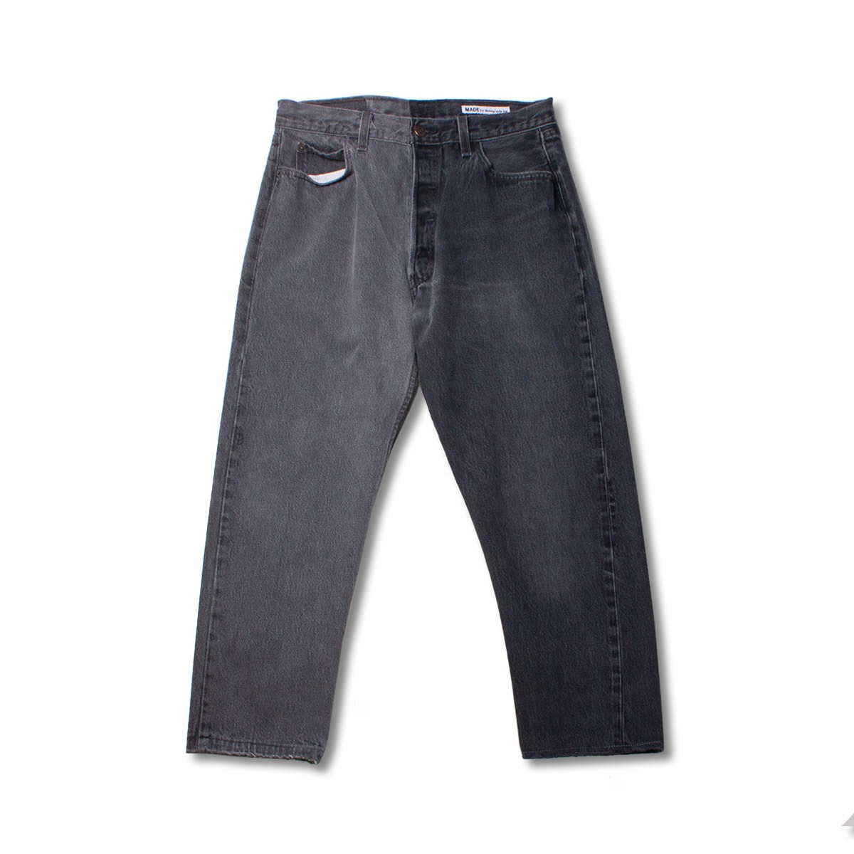 [SUNNY SIDE UP] RE 2FOR1 DENIM 5P PANTS  'BLACK'