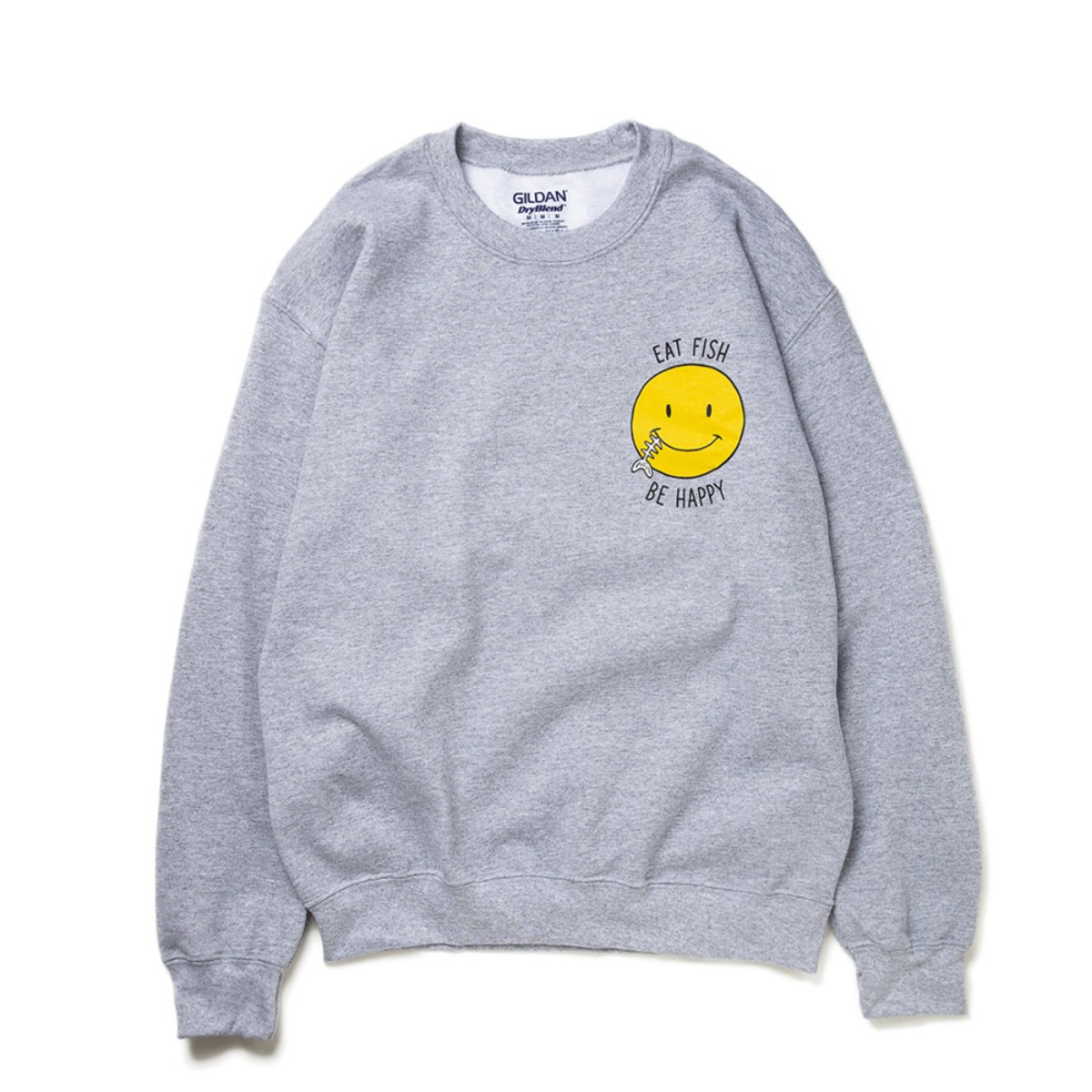 [BIG WAVE] SMILE FISH MTM 'GREY'