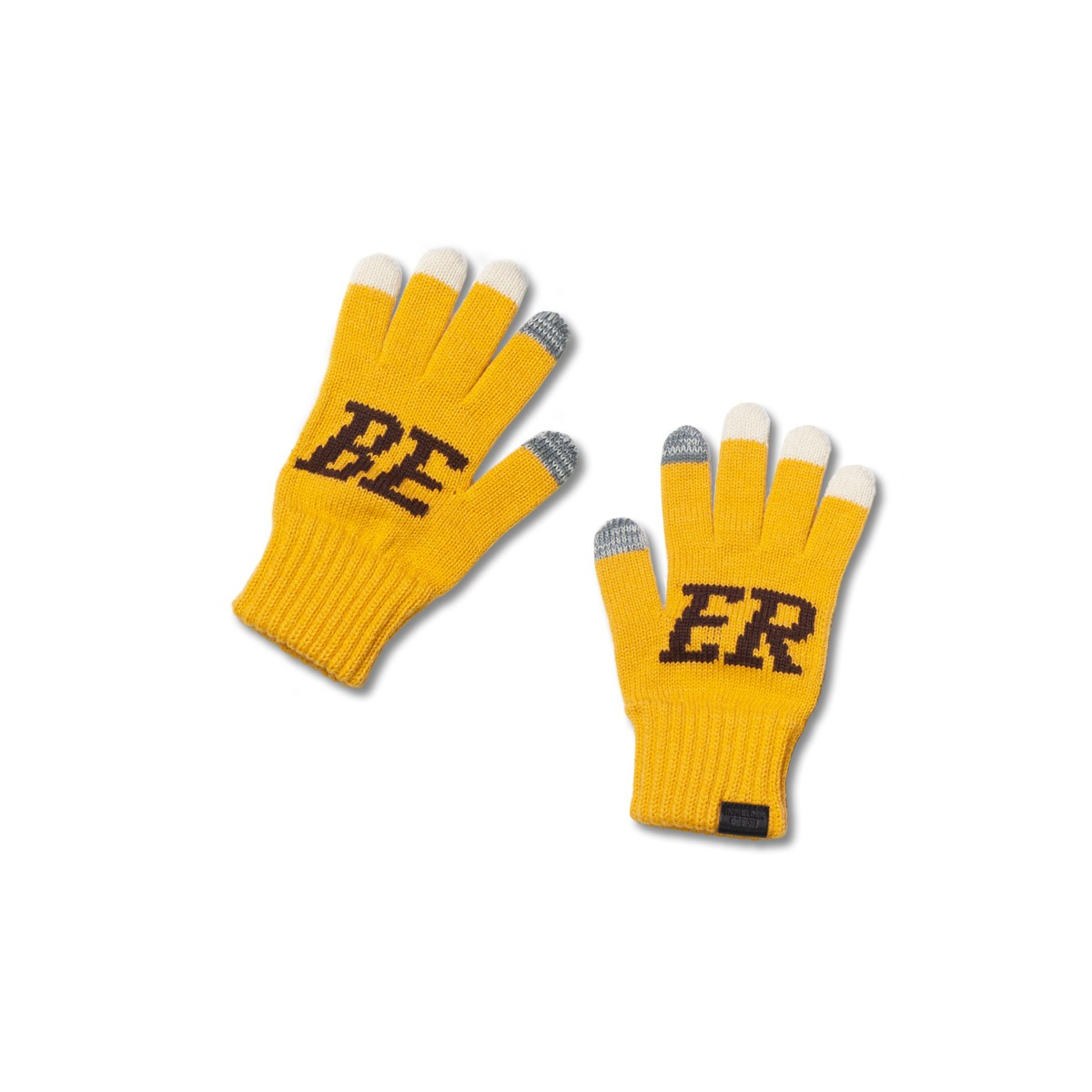 [INFILEDER DESIGN] BEER GLOVES 'YELLOW'