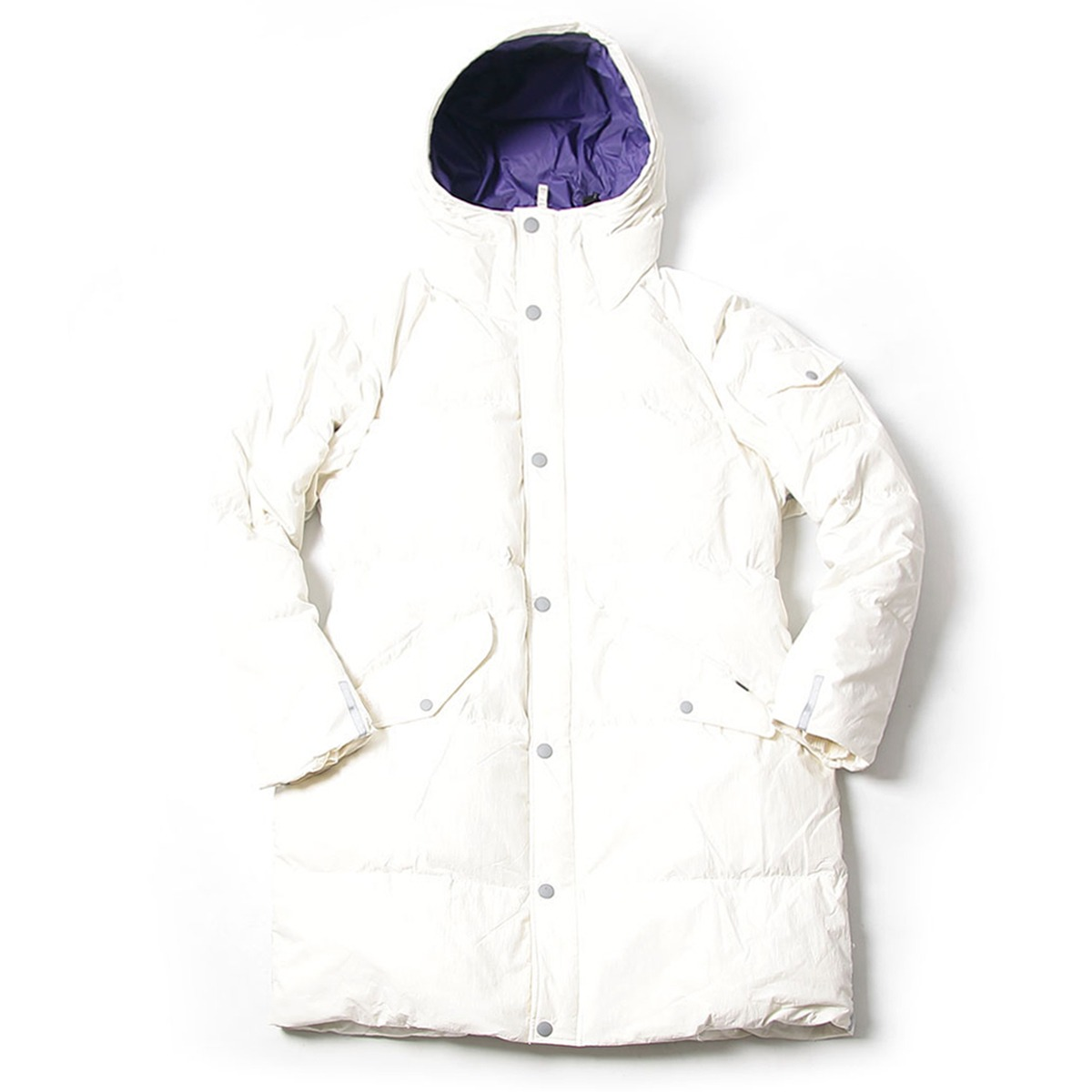 [BEHEAVYER] BHR SHIELD PARKA 'WHITE'