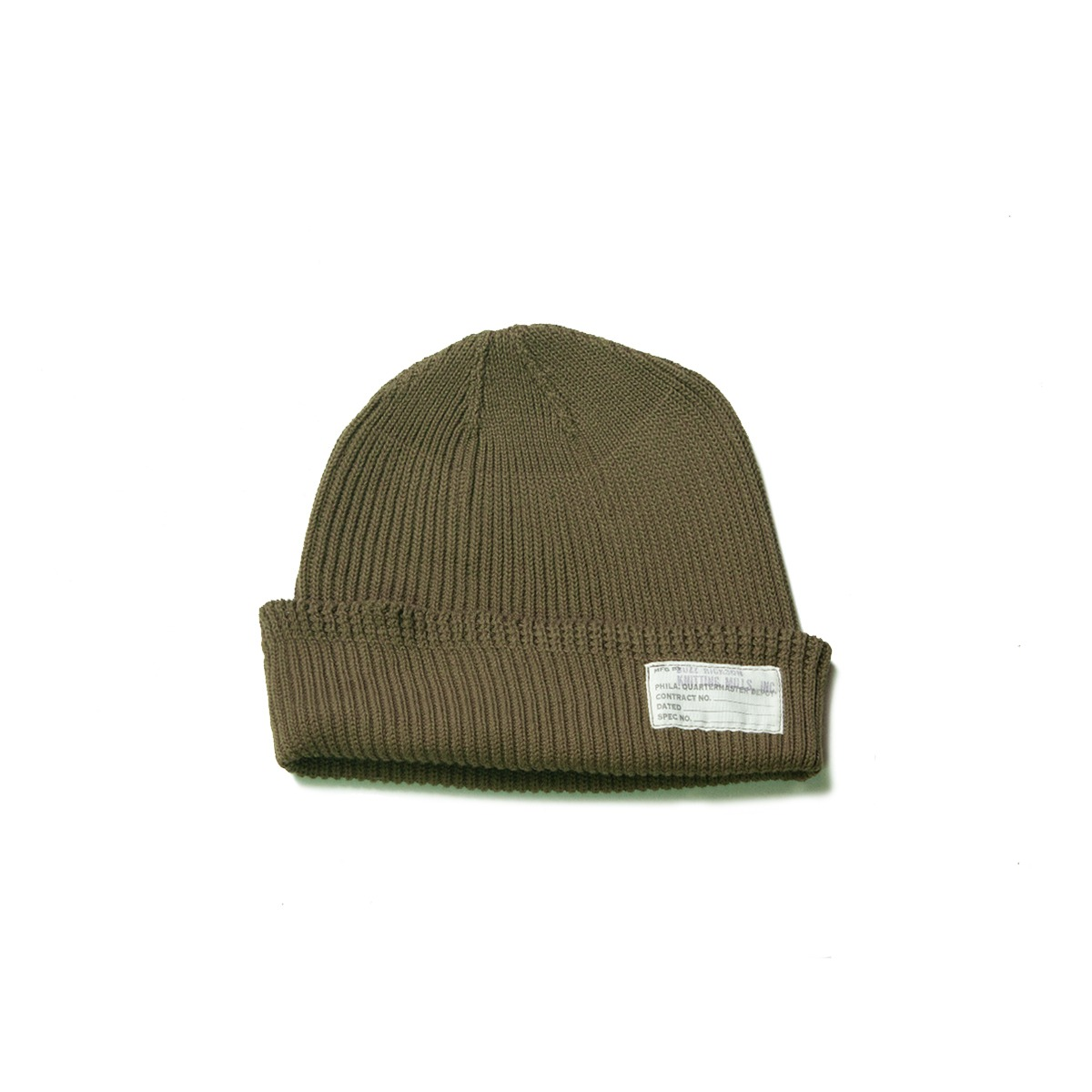 [BUZZ RICKOSN'S] BR02186 WATCH CAP 'OLIVE'