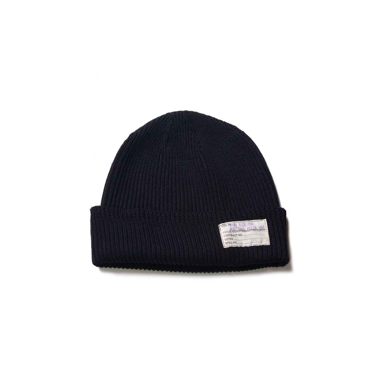 [BUZZ RICKOSN'S] BR02186 WATCH CAP 'BLACK'