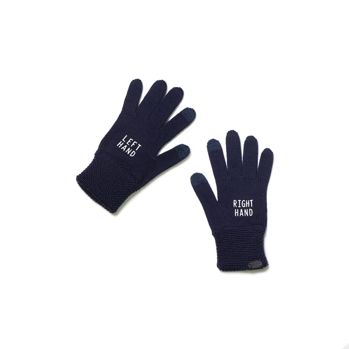 [INFILEDER DESIGN] RIGHT LEFT GLOVES 'NAVY'