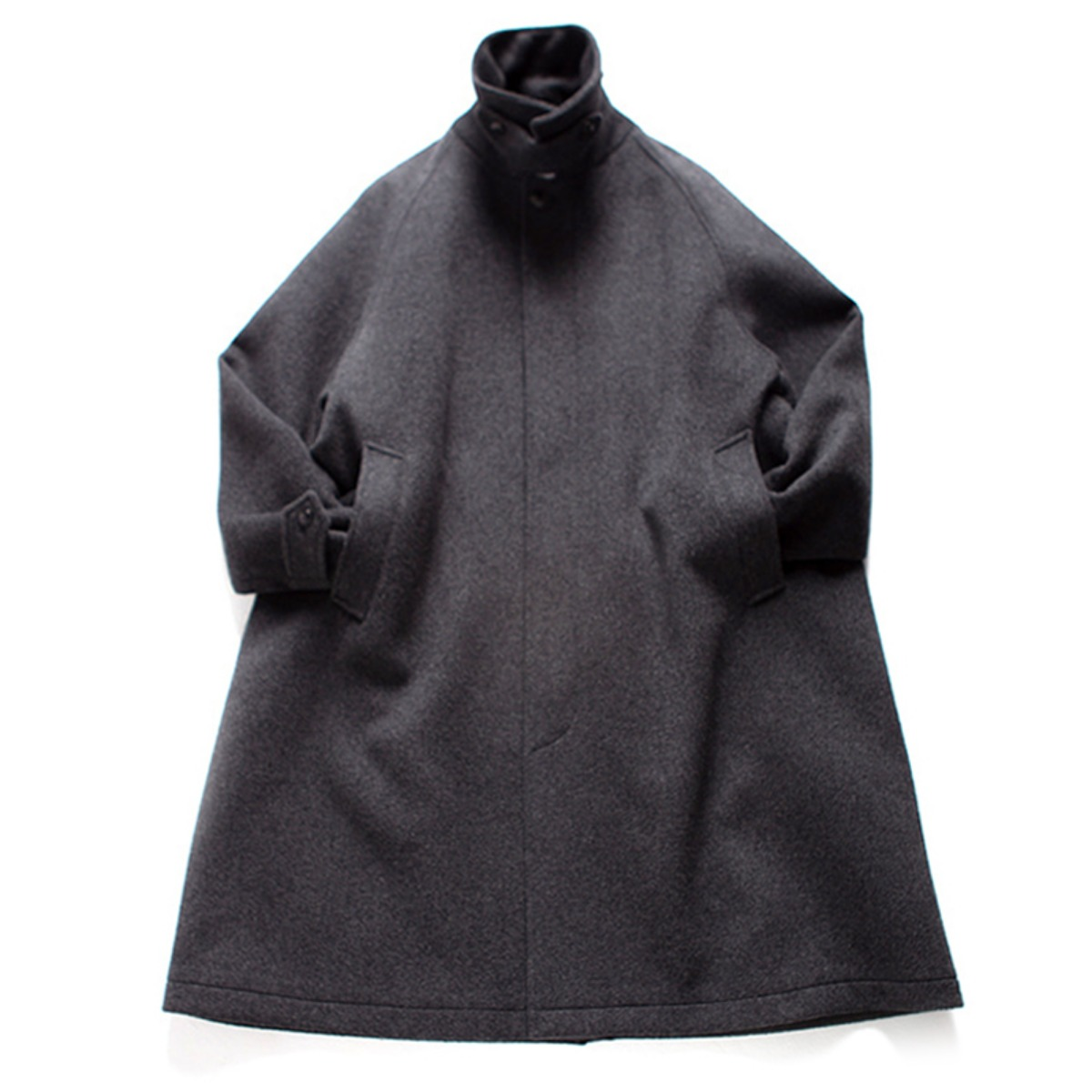 [BROWNYARD] BALMACAAN COAT 'GREY'