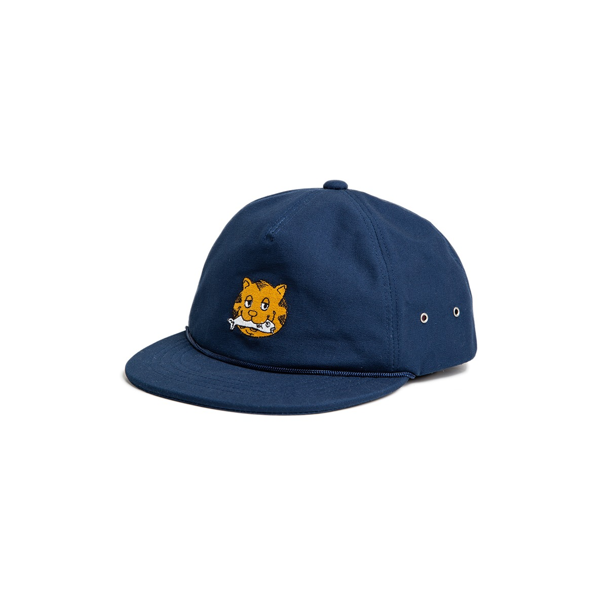[BIG WAVE] FINE EMBROIDERY CAP 'NAVY'