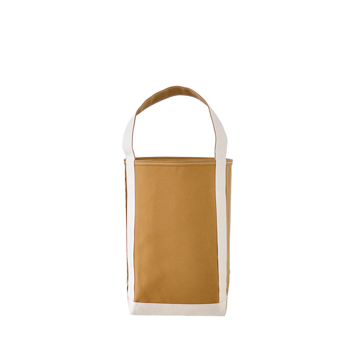 [TEMBEA] BAGUETTE TOTE SMALL 'BEIGE & NATURAL'