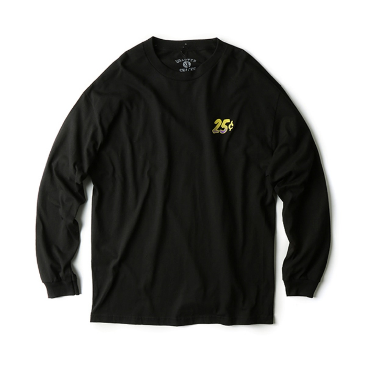 [QUARTERSNACKS] TRIPPY L/S TEE 'BLACK'