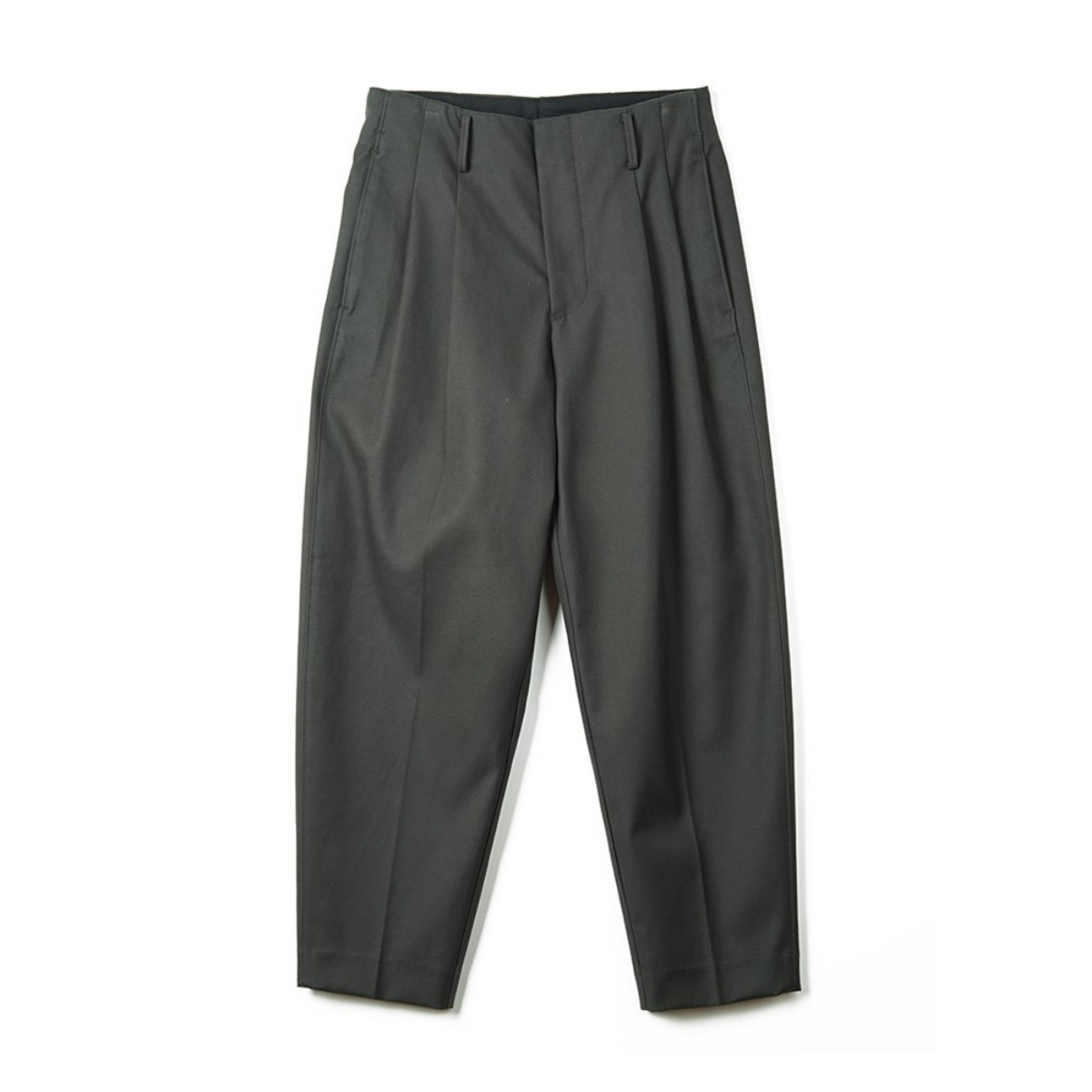 [OOPARTS] OPT18FWPT01OL CARROT-FIT CLASSIC PANTS 'OLIVE'