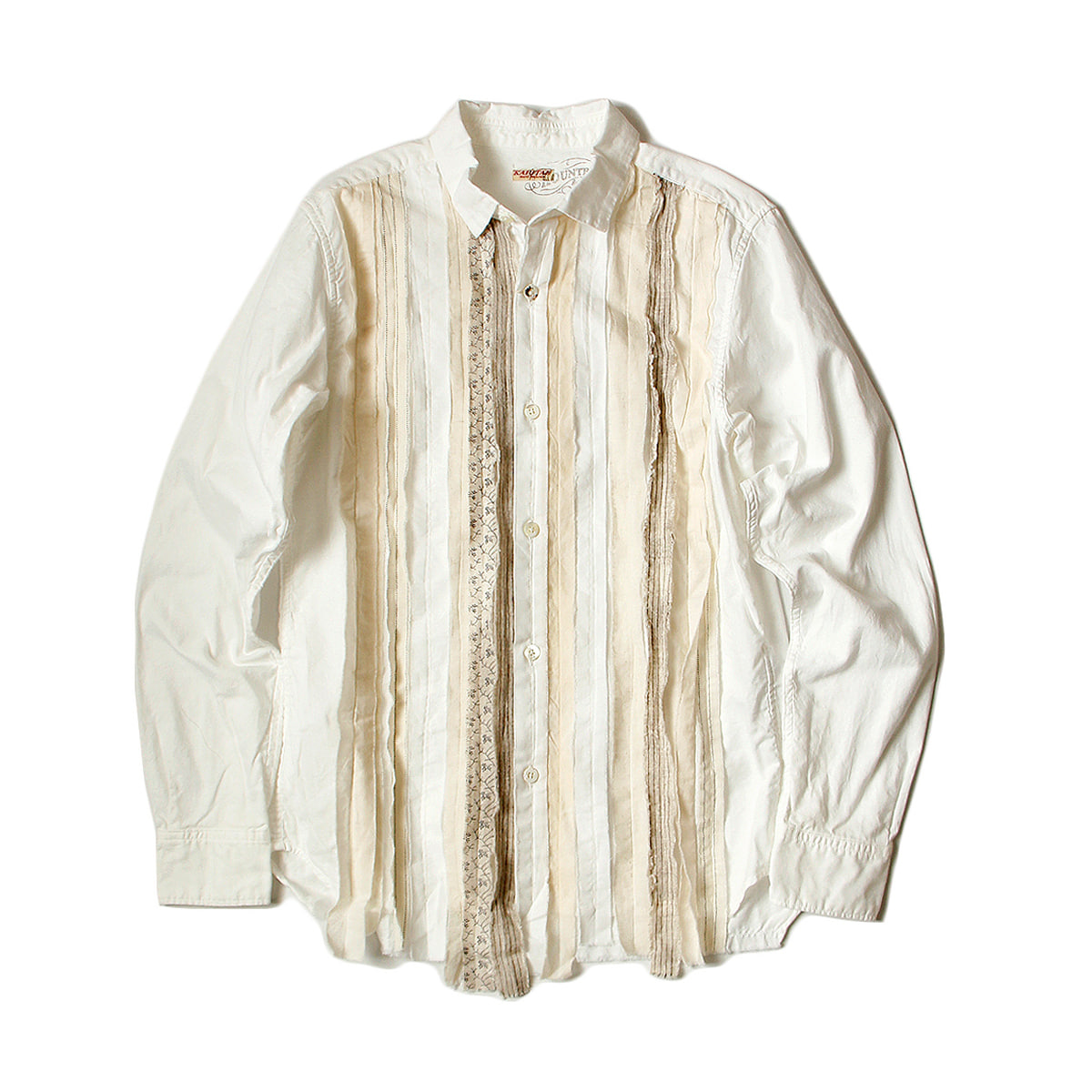 [KAPITAL] OX HOBO DRESS SHIRT  'WHITE'