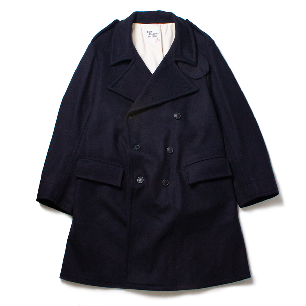 [EAST HARBOUR SURPLUS] MILITARY COAT 'NAVY'