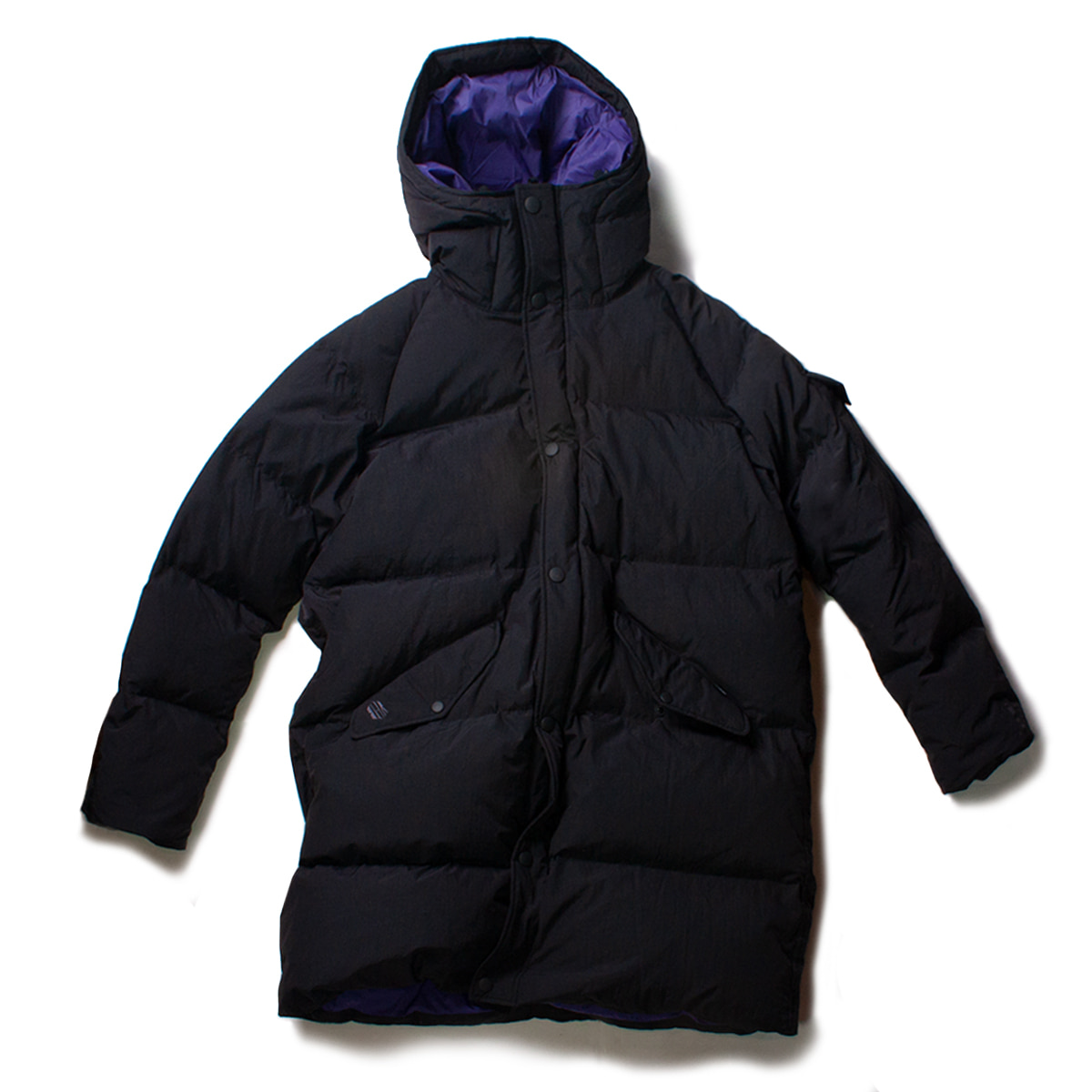 [BEHEAVYER] BHR SHIELD PARKA 'BLACK'