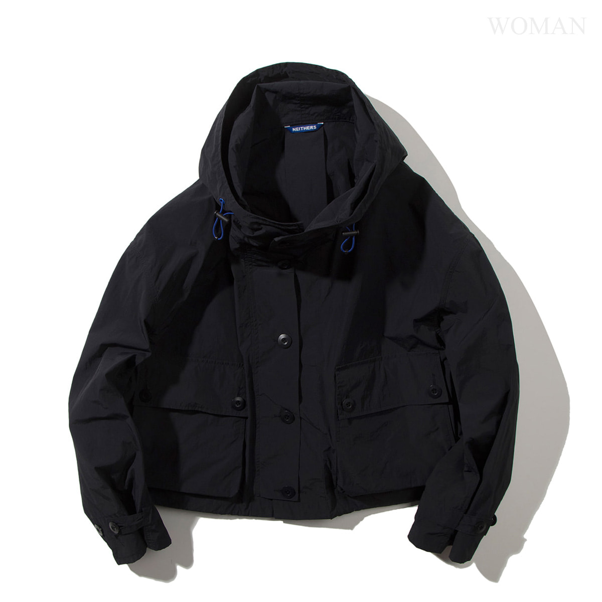 [NEITHERS] 152A-1 CROPPED FIELD PARKA 'NAVY'