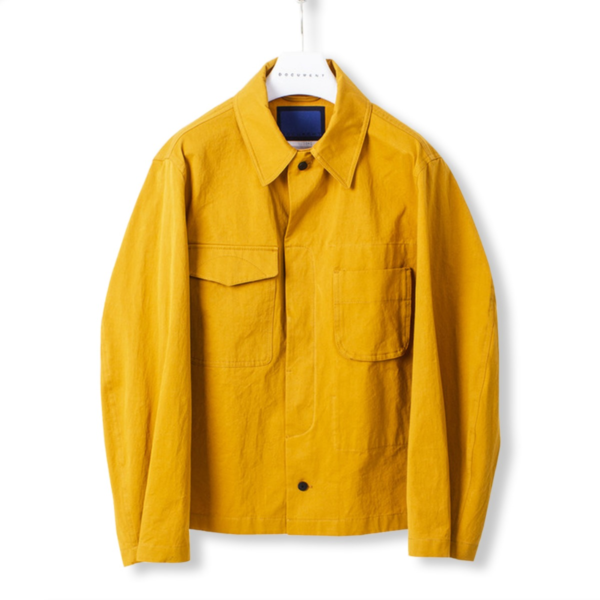 [DOCUMENT] FIELD SHIRTING JACKET 'CAMEL YELLOW'