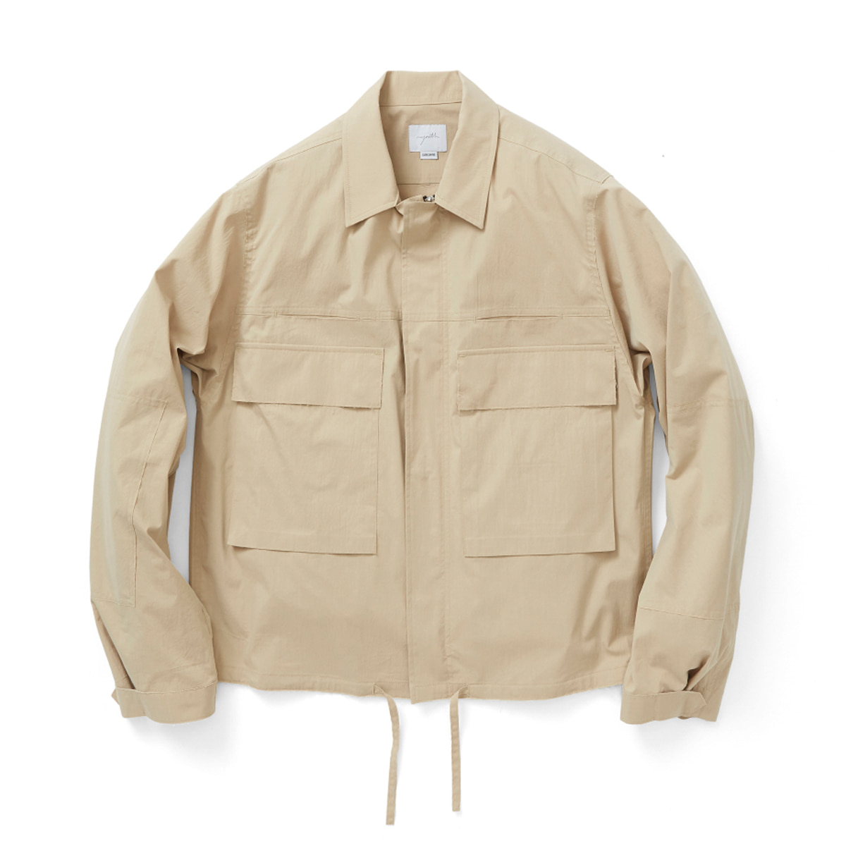 [YOUTH] CUT-OFF CROPPED JACKET 'BEIGE'