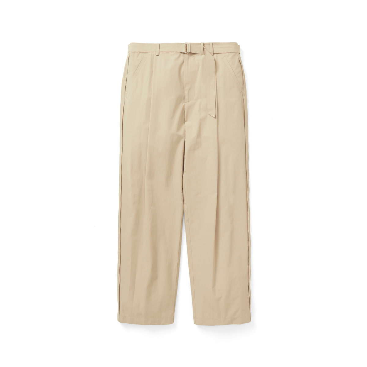 [YOUTH] REVERSE BELTED PANTS 'BEIGE'
