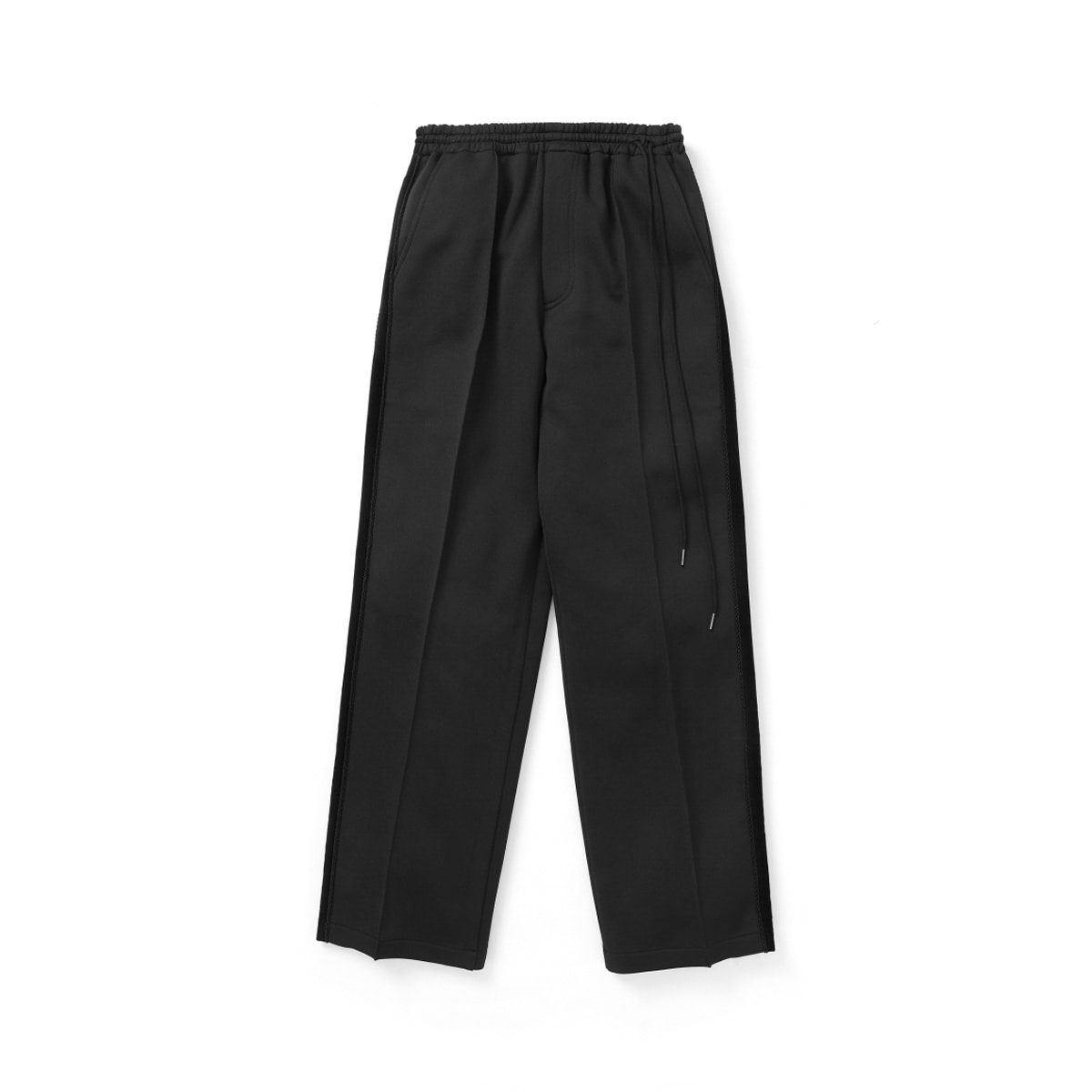 [YOUTH] WIDE TRACK PANTS 'BLACK'