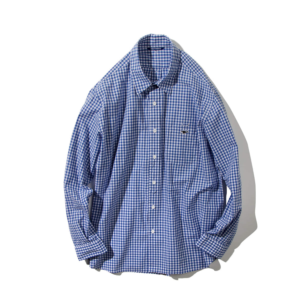 [NEITHERS] 209A-4 COMFORT SHIRT 'BL/WH'