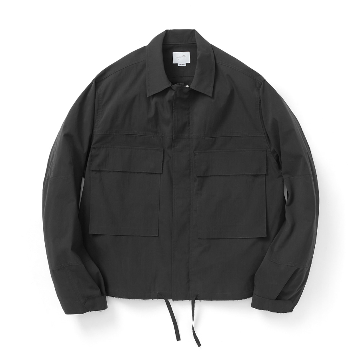 [YOUTH] CUT-OFF CROPPED JACKET 'BLACK'