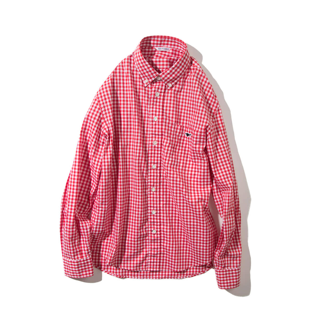 [NEITHERS] 210-5 STANDARD GINGHAM SHIRT 'RED'