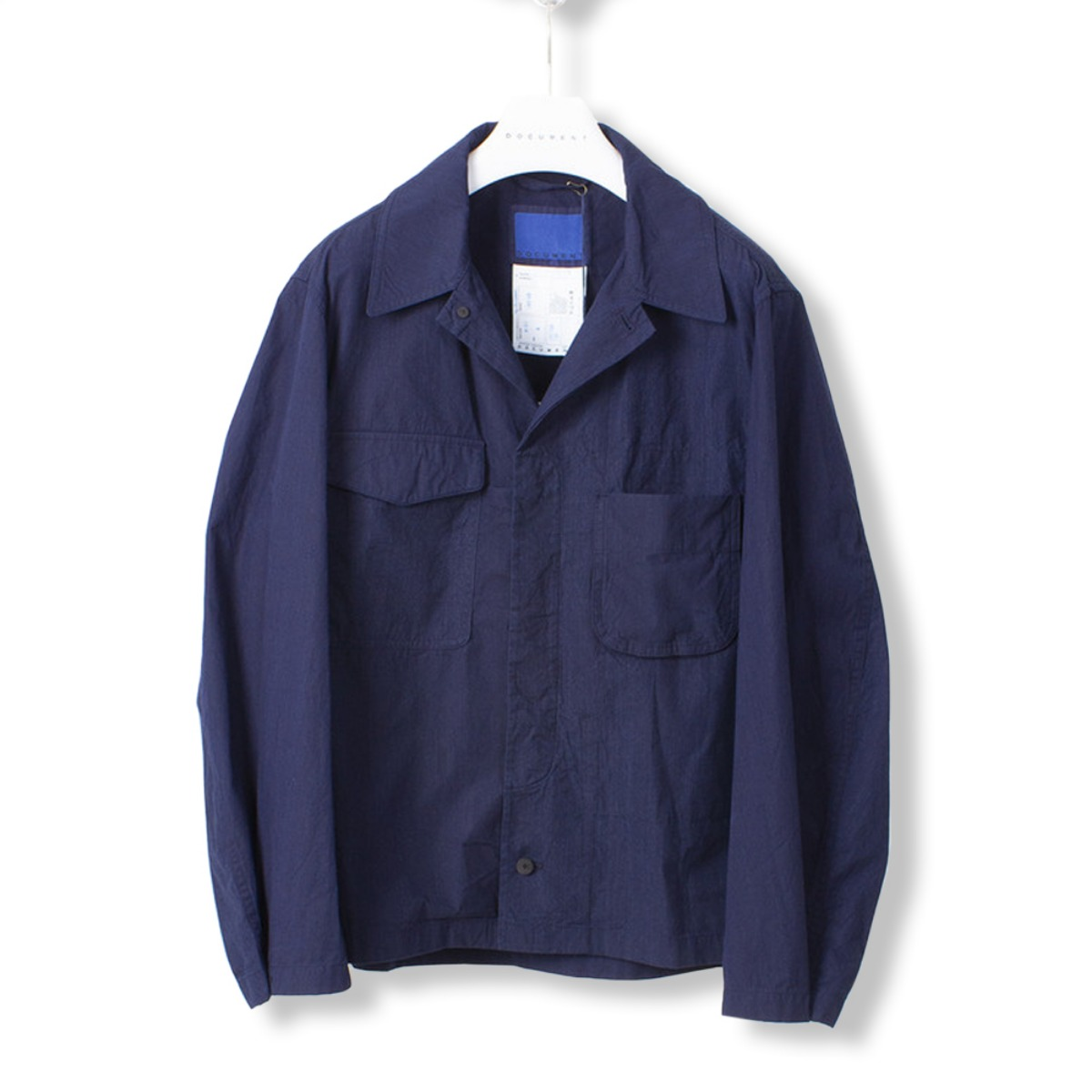 [DOCUMENT] FIELD SHIRTING JACKET 'INDIGO'