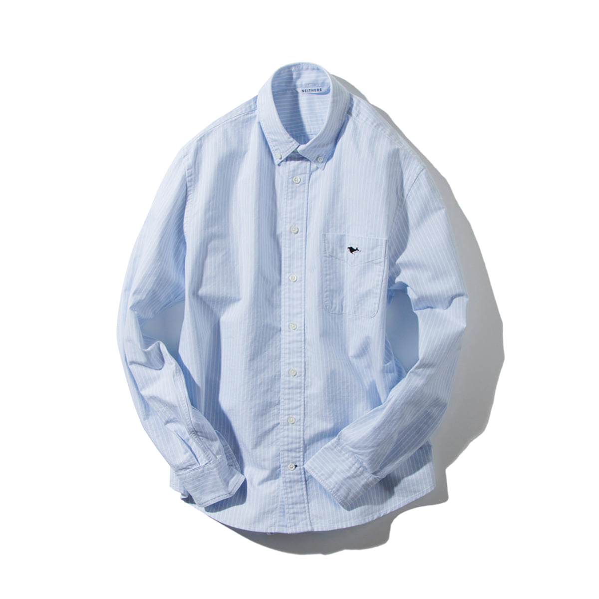 [NEITHERS] 210-2 STANDARD B/D SHIRT 'BLUE STRIPE'
