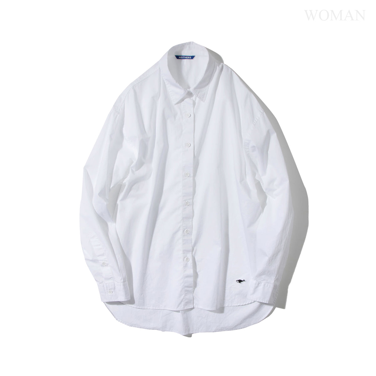 [NEITHERS] 257A-1 ORIGINAL WIDE SHIRT 'WHITE'